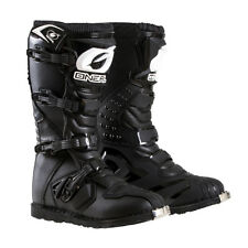 2018 Oneal Motocross/Offroad Rider Adult Boots BLACK SIZE 7