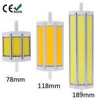 10W 78MM /15W 118MM /25W 189MM LED R7S COB  Corn Bulb Light Lamp Halogen Flood