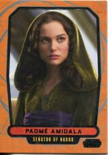 Star Wars Galactic Files Series 1 Base Card #68 Padme Amidala