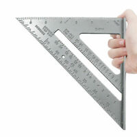 "SPEED SQUARE/ROOFING/RAFTER ANGLE TRIANGLE GUIDE QUICK MEASURE 7""ALUMINIUM ALLOY"
