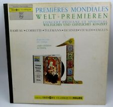 Premieres Mondiales ♫ Welt-Premieren ♫ Philips Tresors Classiques 88 110 DY LP