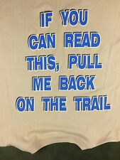 Vintage Mens 2XL 90s 1997 Funny Rock Climbing Chimney Rock Souvenir T-Shirt