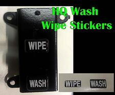 Wiper Washer Dash Switch Stickers  for Holden HQ GTS Monaro Statesman Kingswood