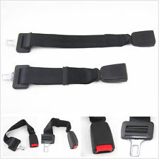 "Black-E4 Click-In Extender: 15""-19"" Auto Adjustable Seat Belt Buckle For Toyota"