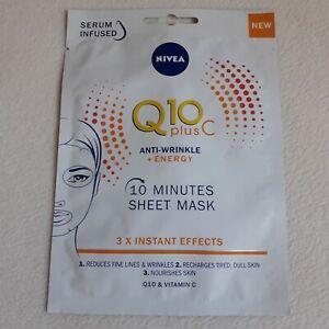 NIVEA Q10 Plus C sheet Mask  ** FREE SHIPPING**