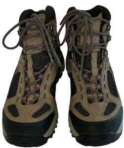 Vasque Hiking Boots Gore-Tex Waterproof Brown Women's - Size 8.0
