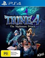 Trine 4 The Nightmare Prince Sony PS4 Fantasy RPG Action Game Playstation 4
