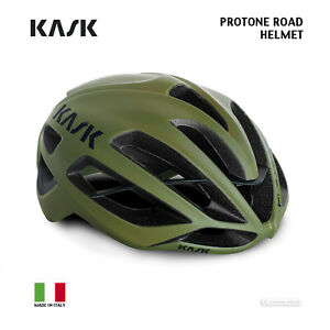 NEW 2021 Kask PROTONE Road Cycling Helmet : MATTE OLIVE GREEN