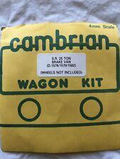 Cambrian Wagon Kit, Brake Van