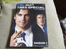 """COFFRET 4 DVD NEUF """"FBI : DUO TRES SPECIAL, SAISON 1"""""""