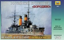 ZVEZDA 9027 RUSSIAN BATTLESHIP BORODINO SCALE MODEL KIT 1/350 NEW