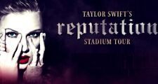 Taylor Swift Reputation Tour ATLANTA 8/11 Tickets ( 3 remaining ) Section 117