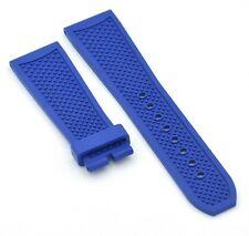 Original Cartier 24mm Blue Rubber Watch Strap