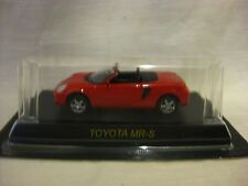 1:64 Kyosho Toyota MR-S Red Diecast Model Car