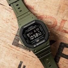 Casio G-Shock Water Resistant Digital Mens Watch in OD Green - DW-5610SU-3