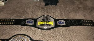 AUTHENTIC King of The Cage KOTC Belt Signed Urijah Faber & Valencia  UFC WEC MMA