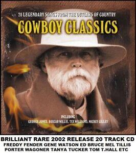 Best Greatest 20 Country Music Hits CD Gilley Tucker Fender T.Hall Porter Bruce