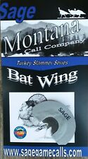 "Turkey Mouth Diaphragm Call, Sage Game Calls ""Bat Wing"""