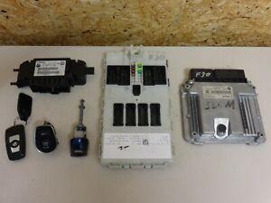 BMW F30 F31 F32 F33 F34 F22 Diesel DDE Motorsteuergerät Set ECU 8591073/Rechnung