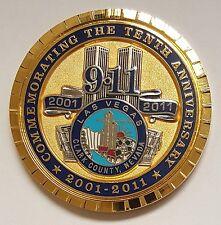 Las Vegas Metropolitan Police Dept 10th Anniversary 9-11-01 Limited Edition 911