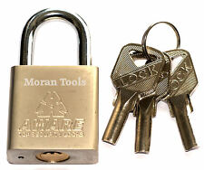 50mm Padlock Weather Resistant 3 Keys Gate Shed Garage Security Lock Heavy Duty