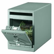 Cash Deposit Box Money Safe Boxes Small Safes Home Office Drop Key Lock Security