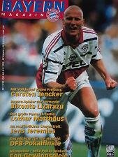 Programm 1998/99 FC Bayern München - SC Freiburg