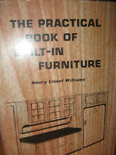 The PRACTICAL BOOK OF BUILT-IN FURNITURE Henry Williams 1959 w/ dustcover