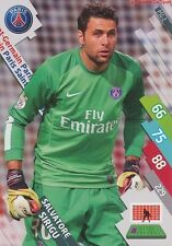 PSG-02 SALVATORE SIRIGU # ITALIA PARIS.SG CARD ADRENALYN FOOT 2015 PANINI