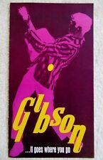 Vintage 1968 GIBSON SG Standard ES-335-12 Hummingbird J-50 ES-330 GUITAR CATALOG