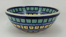 Bunzlauer Keramik Schale MISKA, Schüssel, Salat, bunt, ø17cm (M090-10), V=0,6L