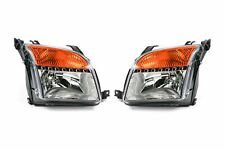 Ford Fusion 06-12 Headlights Headlamps Set Pair With Orange Indicator Left Right