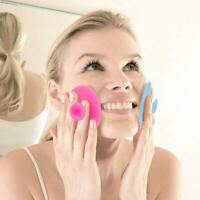 6X Facial Cleansing Silicone Brush Skin Blackhead Pore Cleaner Massager Scrub