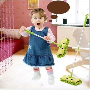 Kids Stretchable Floor Cleaning Tools Mop Broom Dustpan Cleaning Broom Set