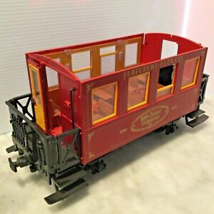 LGB G SCALE RED PASSENGER CAR .
