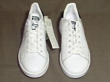 Men's Adidas ORIGINALS STAN SMITH White/Navy Casual Sneakers M20325 Sz. 4.5