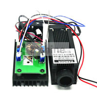 Adjusted 808nm 2400mw 2.4w 12V IR Infrared Laser Dot Diode Module w/TTL Driver
