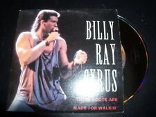 Billy Ray Cyrus These Boots Are Made For Walkin' Australian Card Sleeve CD Singl