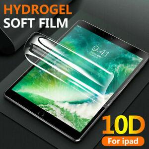 "HYDROGEL Film Screen protector For iPad Air 10.5"" Pro 11"" Pro 10.5"" Mini 2 3 4 5"