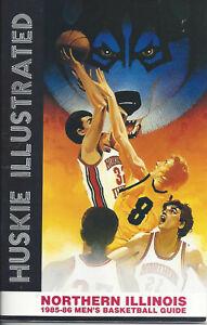 Lot 2 1985-87 Northern Illinois Basketball Media Guides HCs McDougal Rosborough