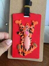 Disney tigger tiger silica gel luggage tags Baggage Tag hang tags Anime tags