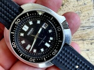 1976 Seiko Diver Automatic 6105-8119 Captain Willard UNPOLISHED CASE ALL ORIGINL