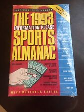 Vtg 1993 Information Please SPORTS ALMANAC Sealed NEW + 1992 World Series Finals