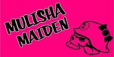 METAL MULISHA BANNER #16, Mulisha Maiden Flag Sign Motocross Dirtbike Moto