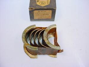 Hillman Minx & Husky Vandervell Main Bearings STD  NEW!