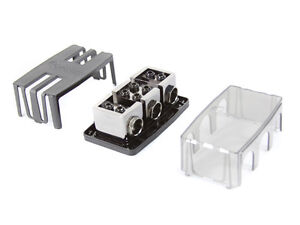 KnuKonceptz Dual Battery, Dual 1/0 Gauge 2 Way Fuse Distribution Block