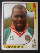 Panini Sticker 52 Moussa N'Diaye Senegal WM 2002 Korea Japan