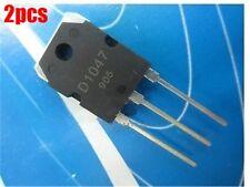 2Pcs 2SD1047 D1047 Pnp Transistor TO-3P New Ic qi