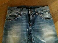 DOLCE & GABBANA Jeans Uomo - Prima Linea, DENIM slim, Originali, Tg. 44 - 29 US