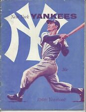 Vintage New York Yankees 1960 Team Yearbook  Mantle & Maris